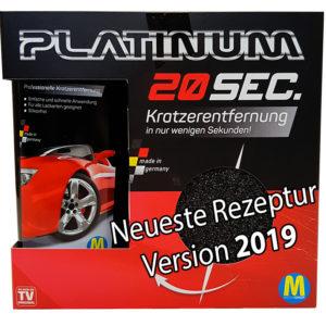 Platinum 20 SEC. Professioneller Kratzerentferner