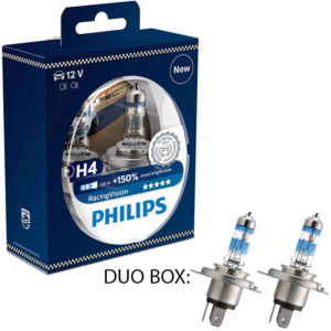 Philips Racing Vision +150 H4 12V DUO BOX
