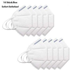 FFP2 Atemschutzmaske 10 Stück/Box