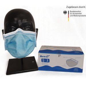 Mund-Nasen-Schutz-Maske Typ II, 50 Stück